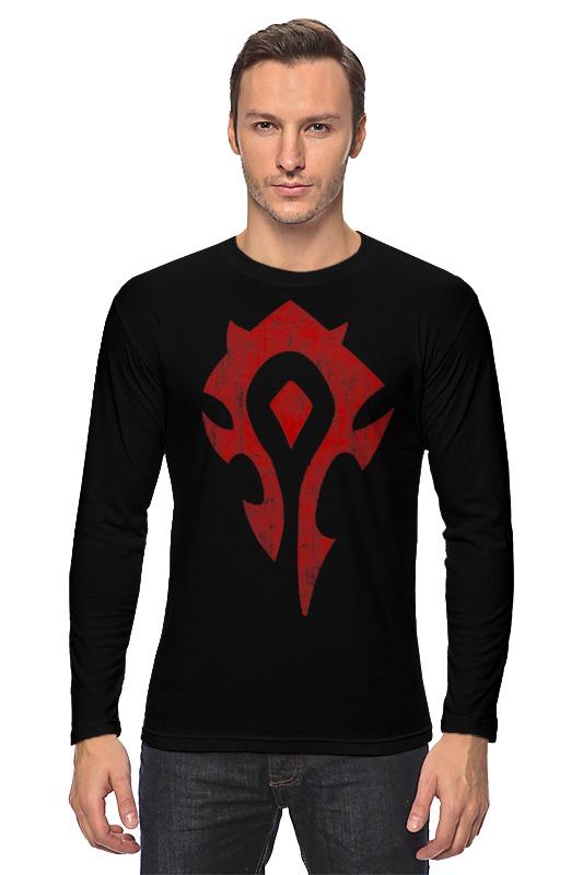Лонгслив Printio World of warcraft. орда футболка классическая printio world of warcraft орда