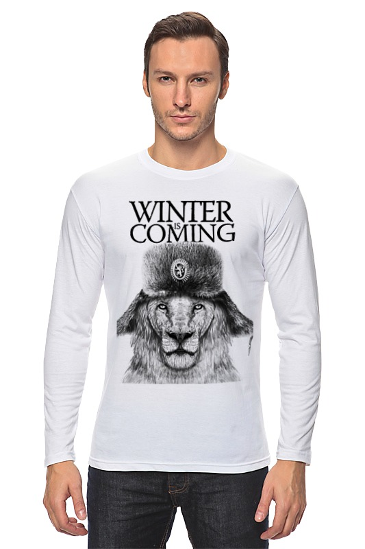Лонгслив Printio Winter is coming лонгслив printio winter is coming