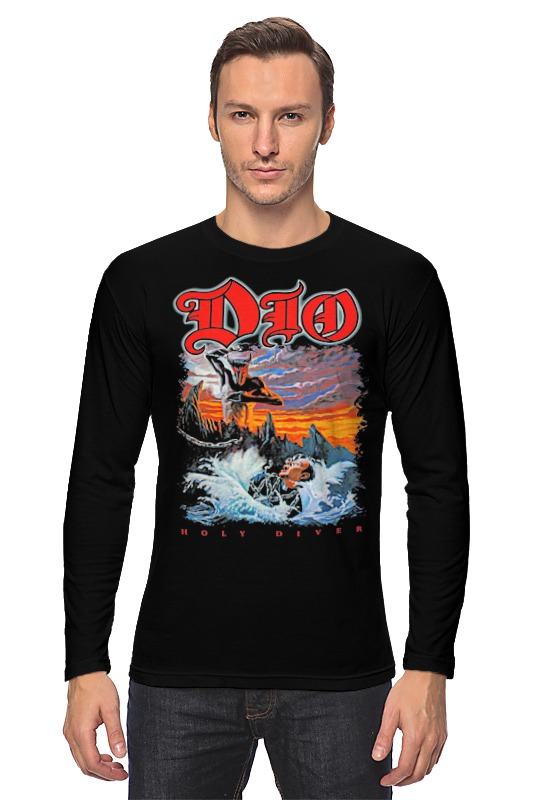 Лонгслив Printio Ronnie james dio