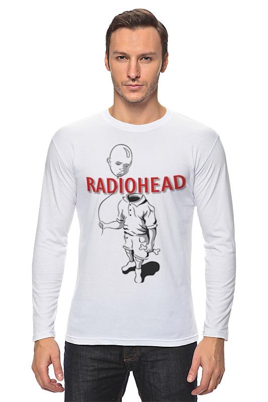 Лонгслив Printio Radiohead cd из японии radiohead