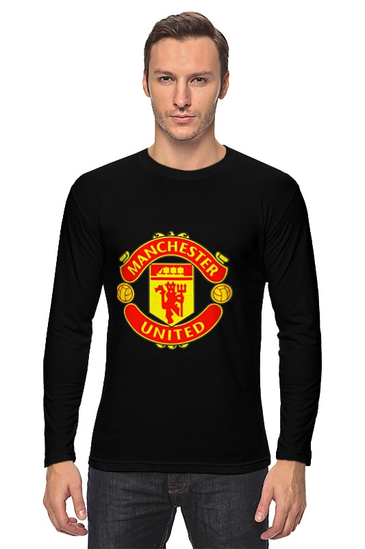 Лонгслив Printio Manchester united paul carrack manchester
