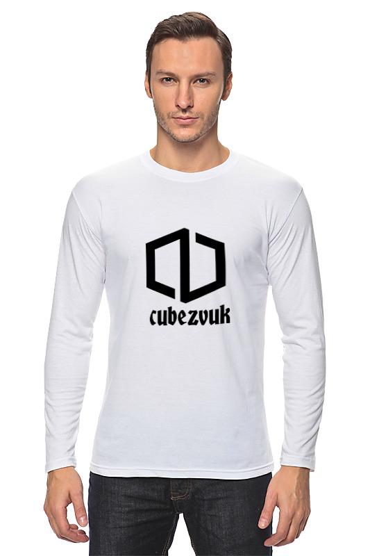Лонгслив Printio Cubezvuk original футболка белая с принтом timberland ут 00011529