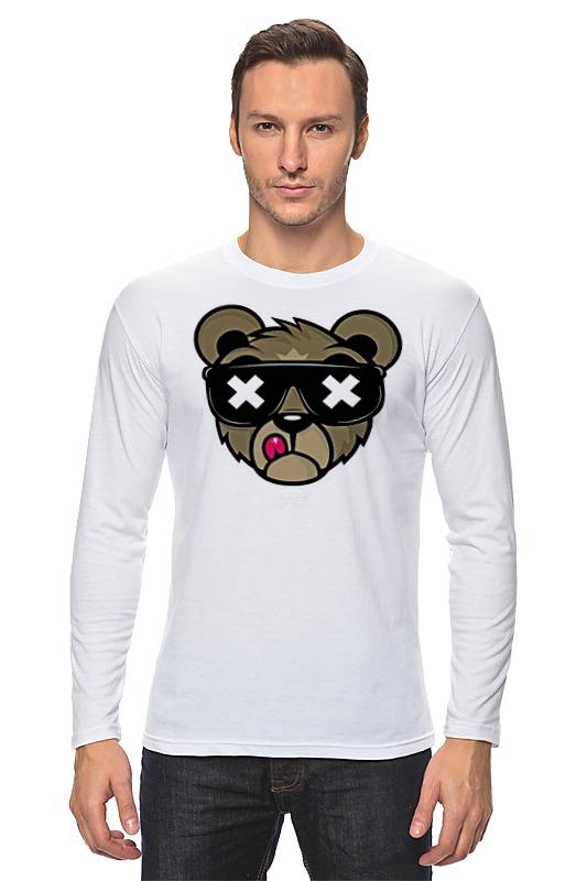 Printio Медведь,оригинальный дизайн лонгслив printio медведь боксер