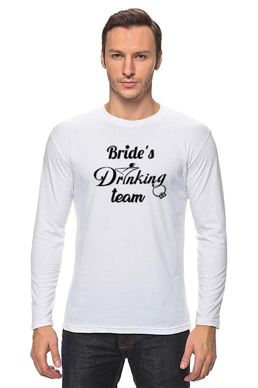 Лонгслив Printio Bride's drinking team bonpoint лонгслив белый с принтом