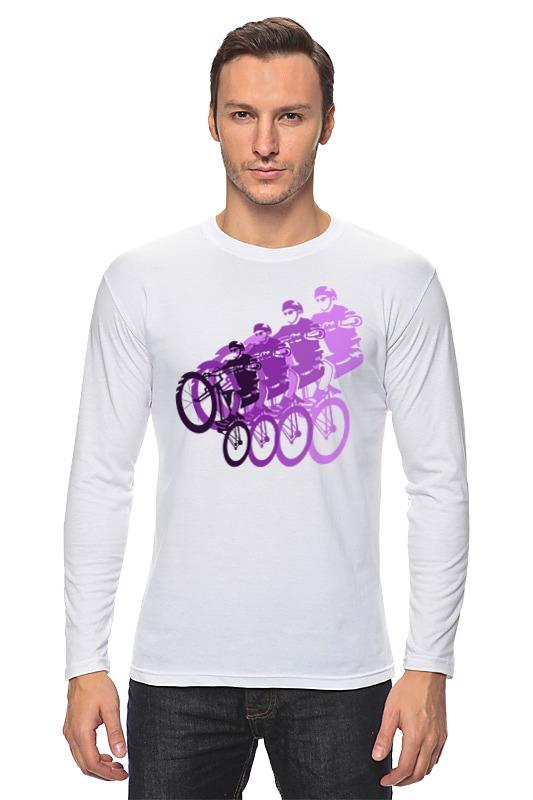 Лонгслив Printio Велосипедисты лонгслив printio beyoutiful arsb