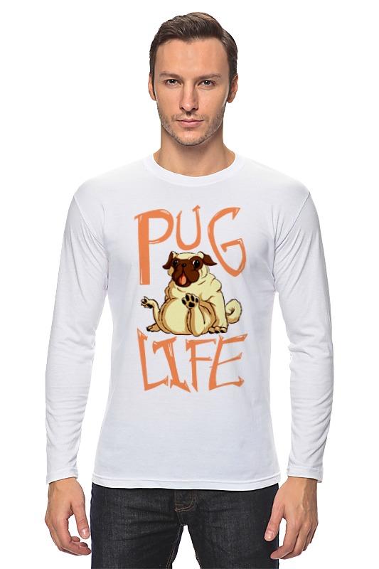 Лонгслив Printio Pug life лонгслив printio pug life