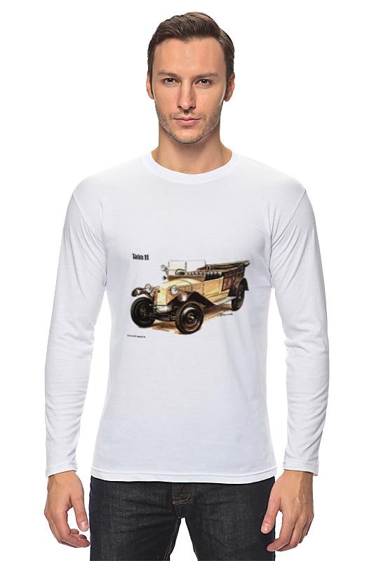 Лонгслив Printio Ретроавтомобили 6