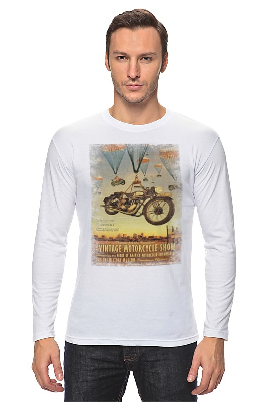 Лонгслив Printio Vintage motorcycle show