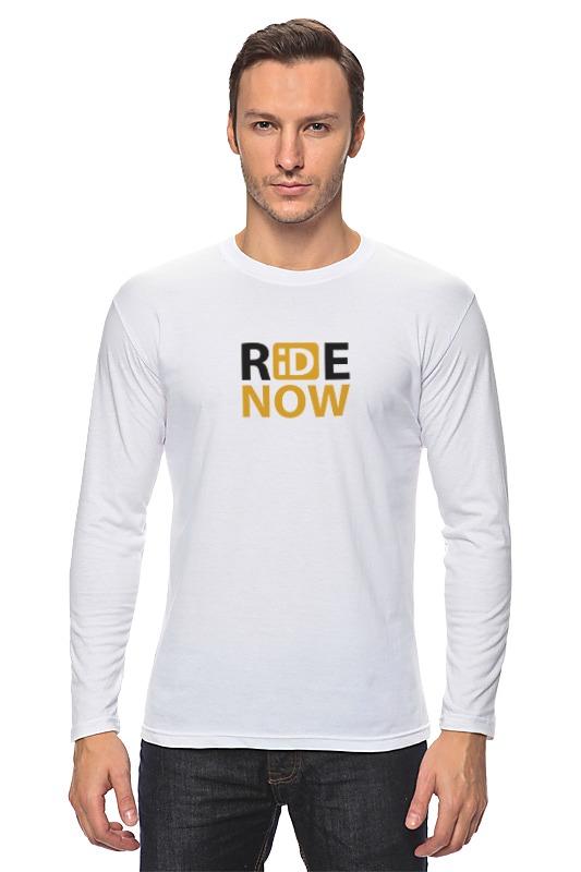 Лонгслив Printio Ride-now женская одежда для спорта