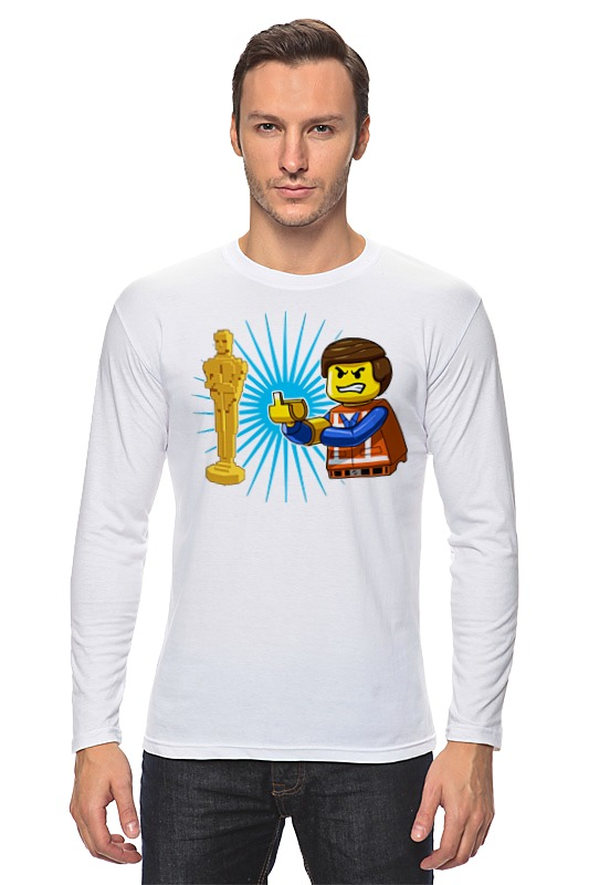 Лонгслив Printio Оскар лего футболка для беременных printio оскар лего