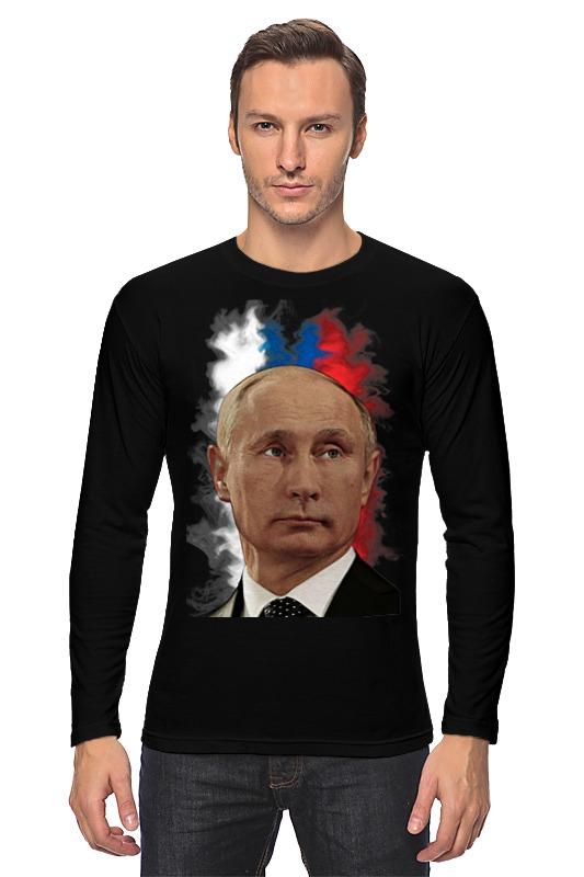 Лонгслив Printio Путин патриот страны