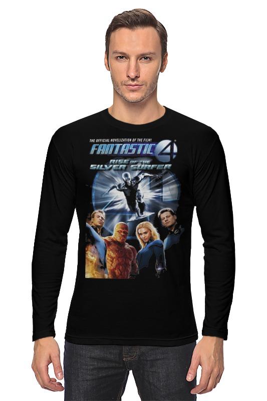 Лонгслив Printio Fantastic 4 / фантастическая четверка лонгслив printio фантастическая четвёрка fantastic four