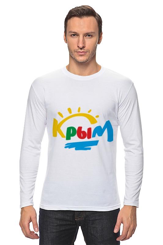 Лонгслив Printio Крым. россия футболка классическая printio крым россия