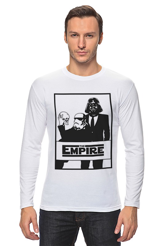 Лонгслив Printio The empire. звёздные войны футболка классическая printio the empire звёздные войны