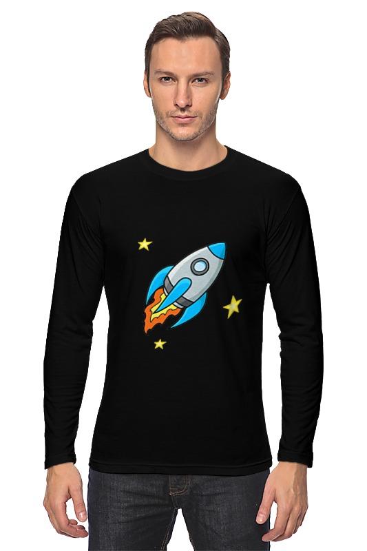 Лонгслив Printio Юный космонавт лонгслив printio портрет космонавта
