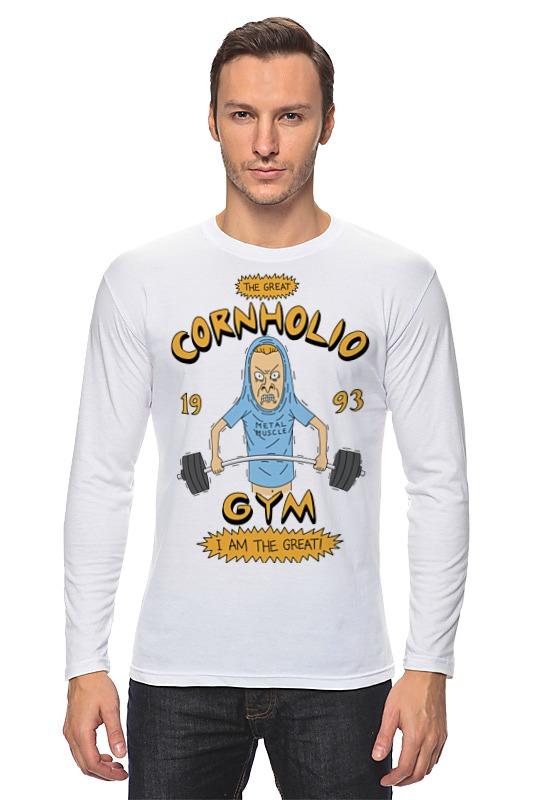 Лонгслив Printio Спортзал кукурузо футболка стрэйч printio спортзал попайя