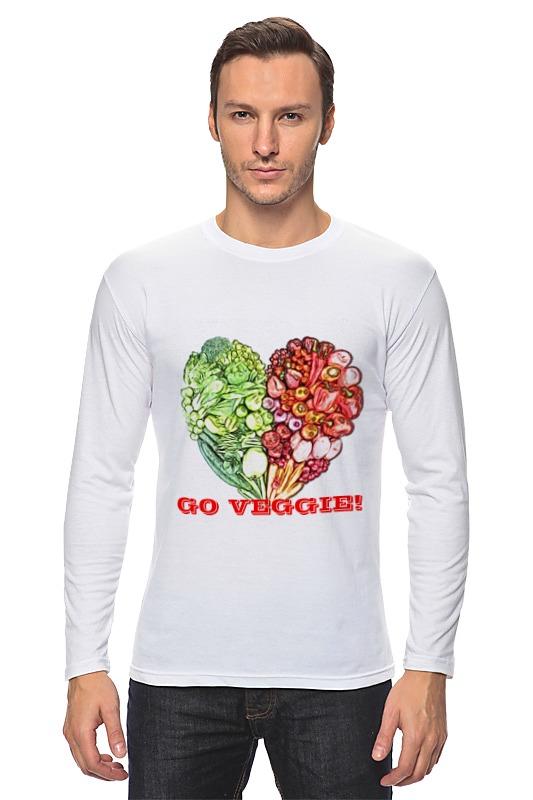Лонгслив Printio Go veggie! овощерезка moha veggie pro цвет черный