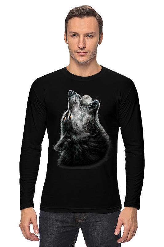 Лонгслив Printio Волк и луна футболка стрэйч printio волк и луна