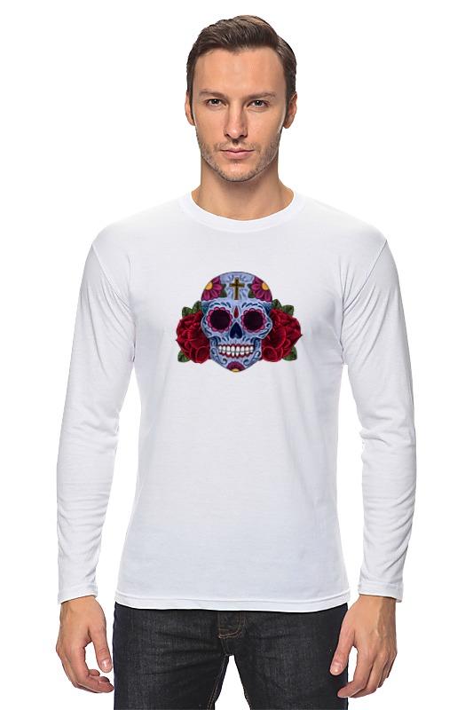 Лонгслив Printio Мексиканский череп цены