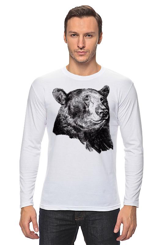 Лонгслив Printio Медведь