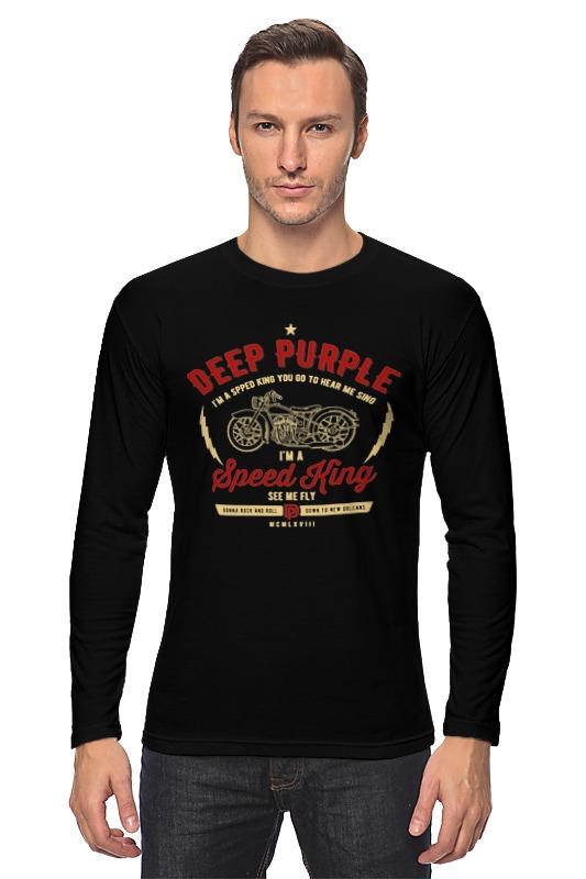 Лонгслив Printio Deep purple