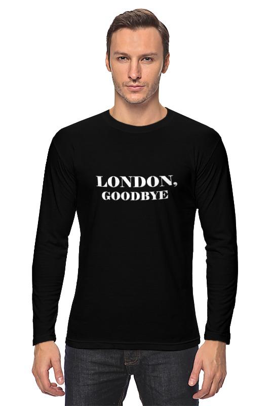Лонгслив Printio London, goodbye moyou london плитка для стемпинга tourist collection 08