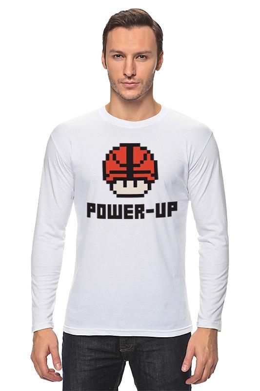 Лонгслив Printio Гриб марио (баскетбольный мяч) мяч баскетбольный and1 legend