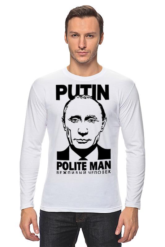 Лонгслив Printio Putin polite man цена