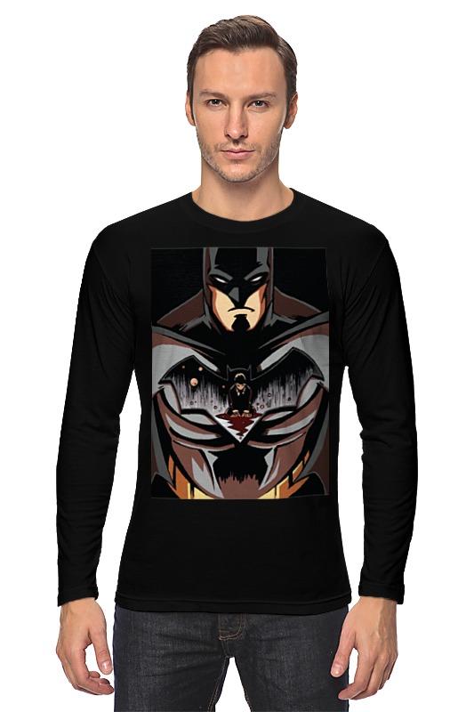 Лонгслив Printio Batman / бэтмен скатерть квадратная printio batman бэтмен