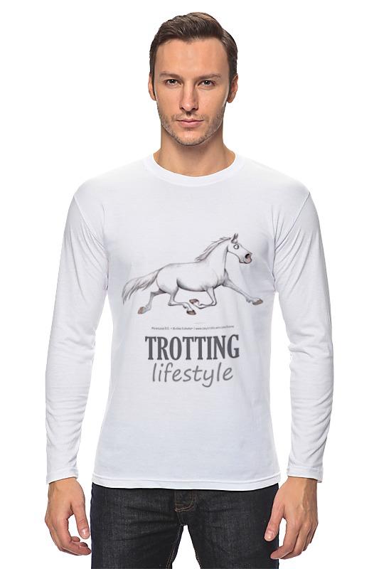 Лонгслив Printio Trotting lifestyle крем librederm крем для тела увлажняющий легкий гиалуроновый librederm 200 мл