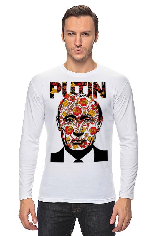 Лонгслив Printio Putin лонгслив printio beyoutiful arsb