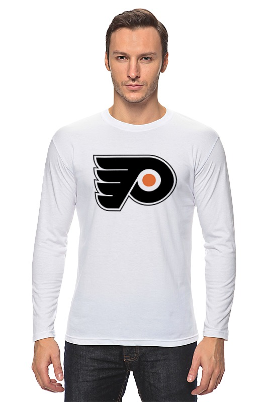 Лонгслив Printio Philadelphia flyers / nhl usa футболка стрэйч printio philadelphia flyers nhl usa