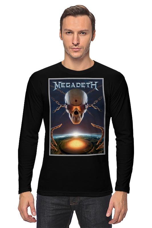 Лонгслив Printio Megadeth band megadeth megadeth th1rt3en 2 lp