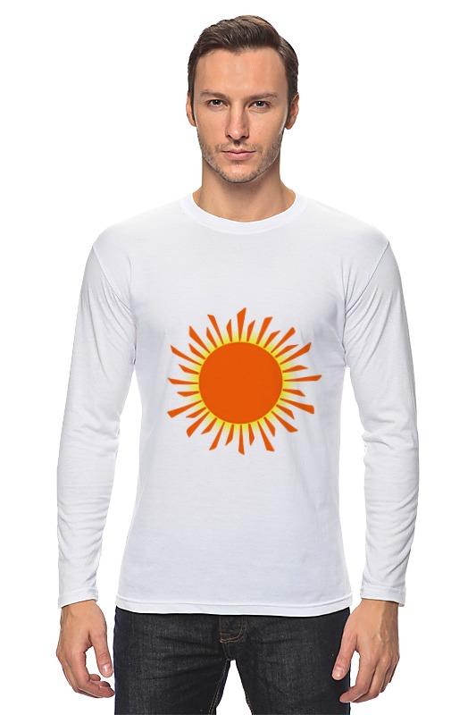 Лонгслив Printio Оранжевое солнце футболка рингер printio оранжевое солнце