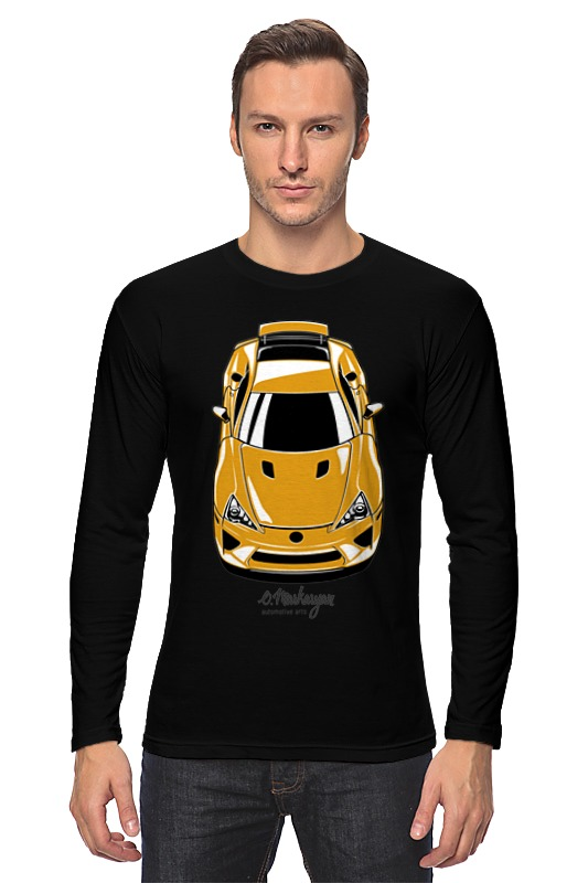 Лонгслив Printio Lexus lfa