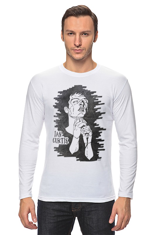 Лонгслив Printio Ian curtis футболка wearcraft premium slim fit printio ian curtis