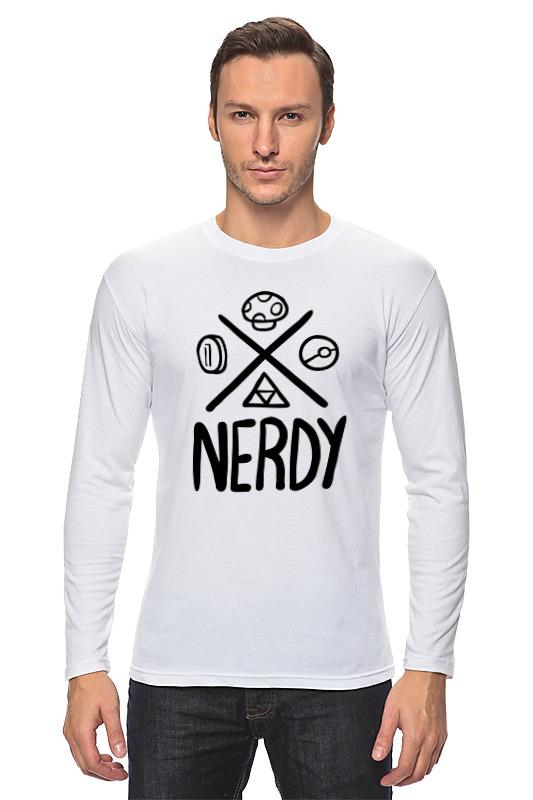 Лонгслив Printio Nerdy лонгслив printio nerdy