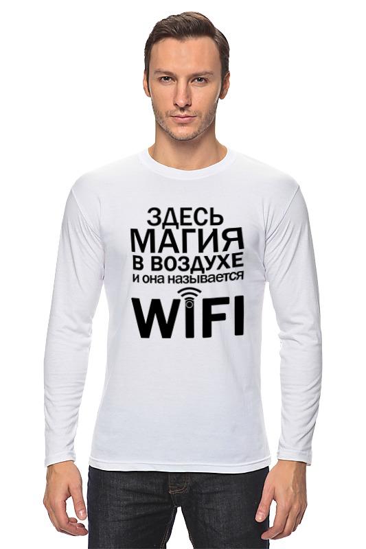 Лонгслив Printio Wifi magic (2) цена