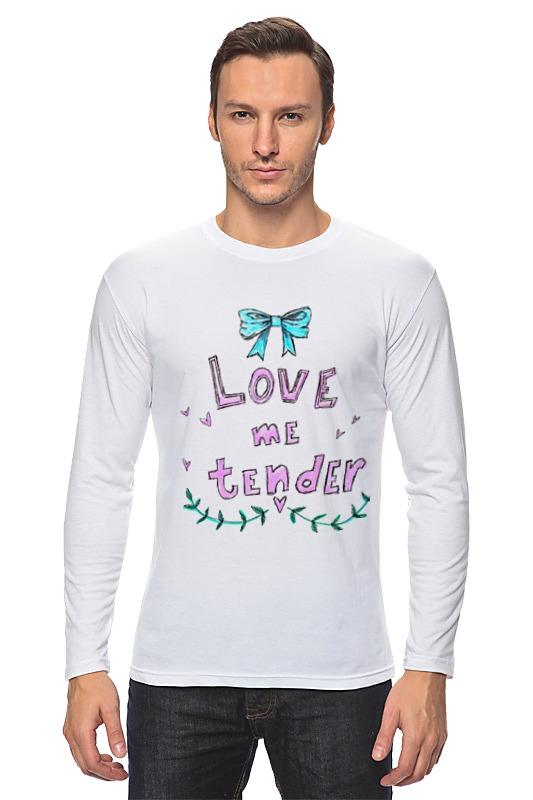 колготки женские knittex tender 20 цвет черный tender размер 2 Лонгслив Printio Love me tender