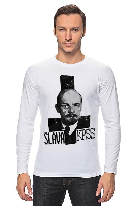 Лонгслив Printio Слава кпсс футболка антихайп слава кпсс