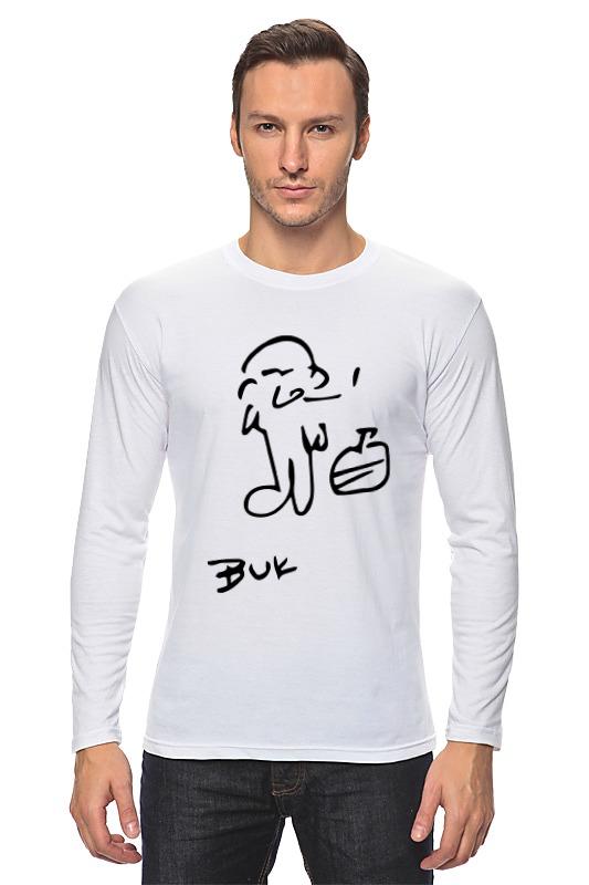 Лонгслив Printio Чарльз буковски(charles bukowski) футболка стрэйч printio чарльз буковски charles bukowski
