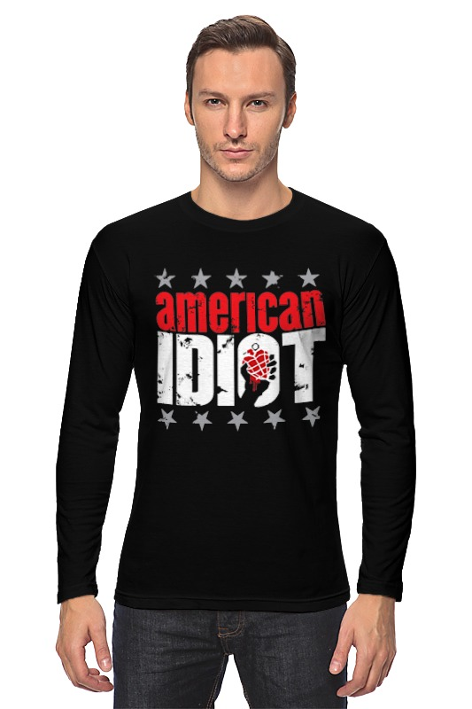 Лонгслив Printio Green day american idiot автоаксессуар cx 5 cx5