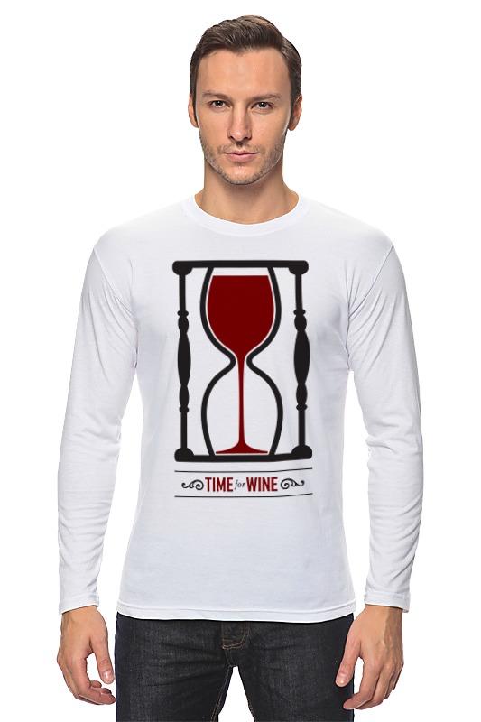 Лонгслив Printio Время для вина лонгслив printio время чая