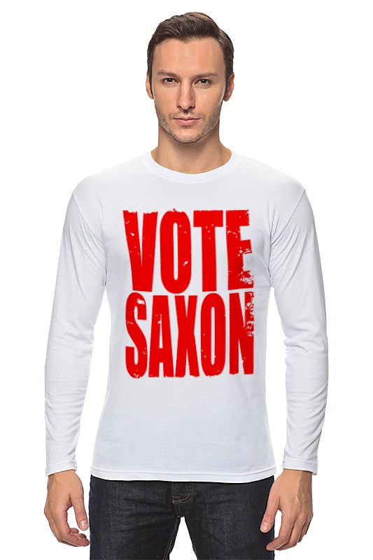 Лонгслив Printio Vote saxon (doctor who)