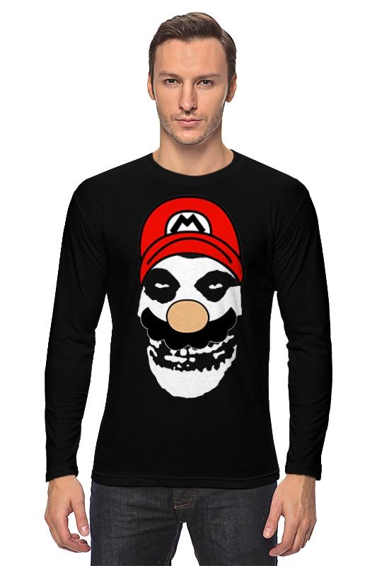 где купить Лонгслив Printio Mario x misfits по лучшей цене