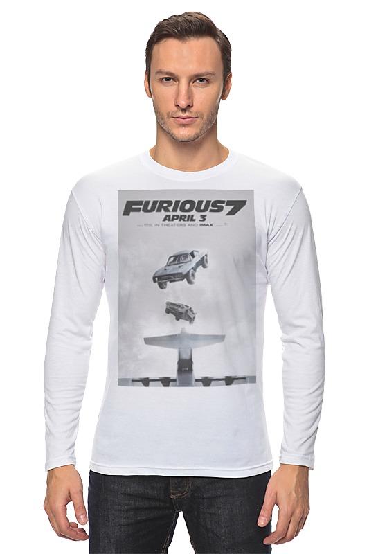 Лонгслив Printio Fast & furious / форсаж лонгслив printio furious 7