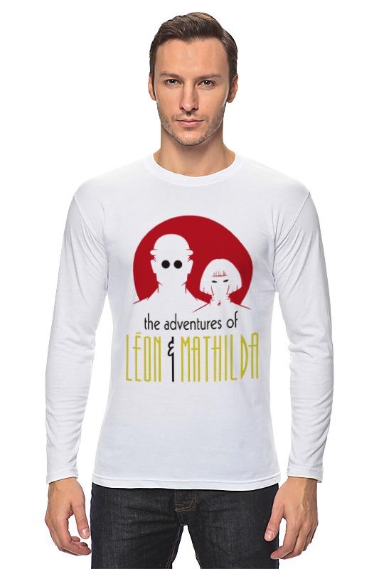 Лонгслив Printio Leon & mathilda цены онлайн