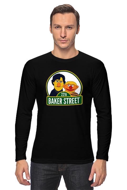 Лонгслив Printio Шерлок (улица сезам) улица ангела