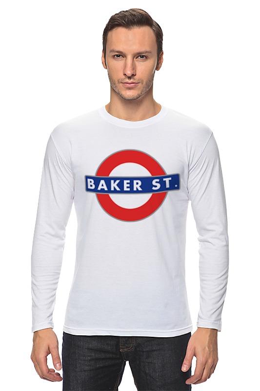 Лонгслив Printio Бейкер-стрит (шерлок) майка print bar 221b baker street