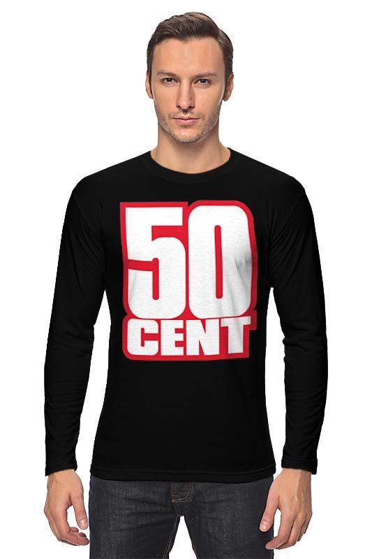 Лонгслив Printio 50 cent (фифти) 50 cent birmingham